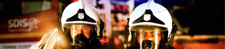 Autocollants sur mesure découpés en pleine chair pour les pompiers et casernes