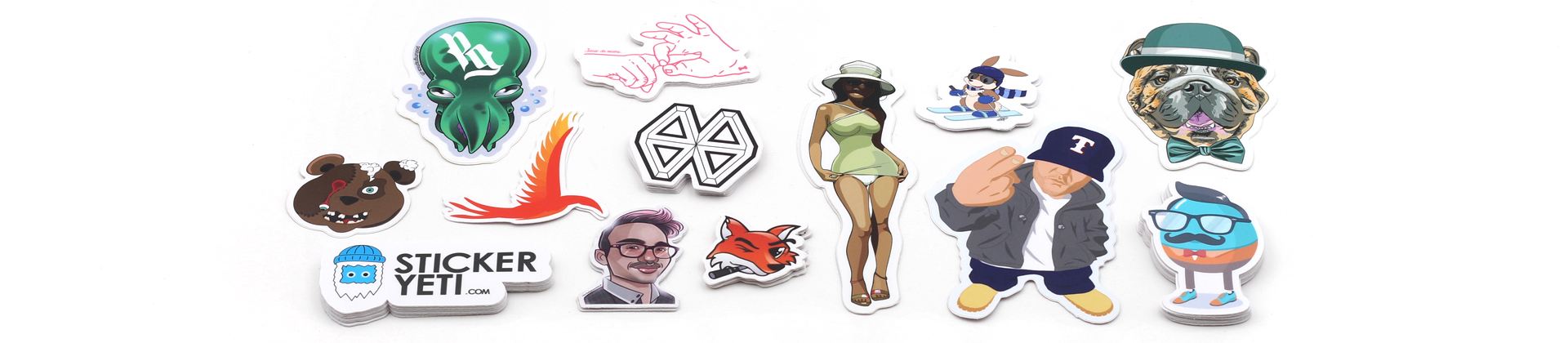 Stickers for illustrators, graphic artist, art stickers print from drawing